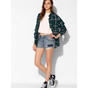 UO BDG tomgirl relaxed jean shorts